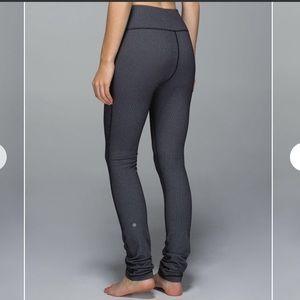 lululemon athletica Pants - Lululemon Skinny Will Pant Cross Stitch Size 2