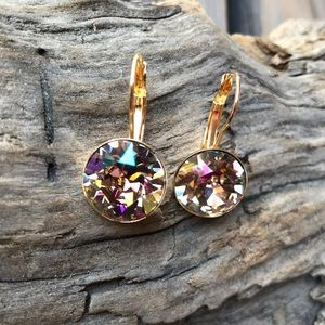 Jewelry - Handcrafted earrings with Swarovski crystal #226