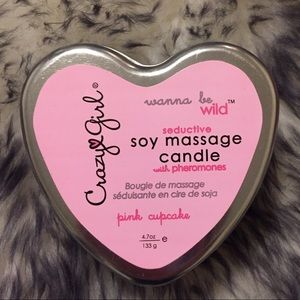 Crazy girl Accessories - Soy Massage Candle