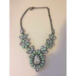Jewelry - Teal Statement Necklace