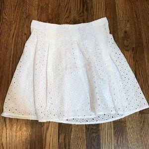 Freestyle Dresses & Skirts - White Eyelet Skirt