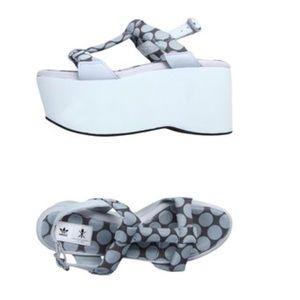 SALE Adidas X opening ceremony platforms sandal