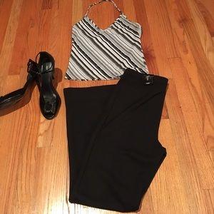 Express Classic Ponte Knit Pants-Short Length NWT