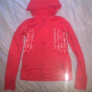 Zella Girl Other - Zella girls orange zip up hoodie
