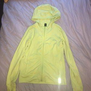 Zella Girl Other - Zella girls like green zip up hoodie