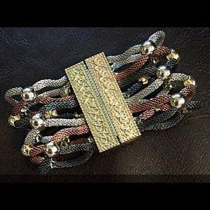 Jewelry - 🌱Magnetic Tri-Color Bracelet🍃