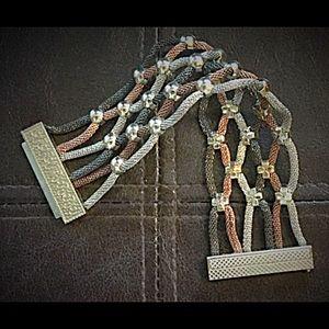 Jewelry - Magnetic Tri-Color Bracelet