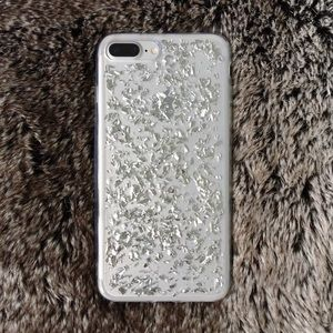 Accessories - 🚨CLEARANCE🚨Sterling silver iPhone 7/ 7 plus case