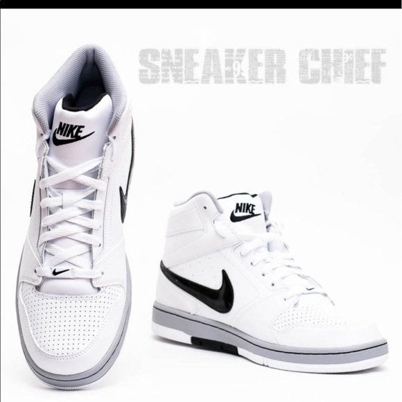 68e0045cbdfb NIKE PRESTIGE IV HIGH Men s BASKETBALL SHOES WHITE.  M 5950d7317fab3aef8103b4a2