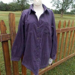 Woolrich Jackets & Blazers - Woolrich Corduroy Trailhead Fleece Shirt Jacket