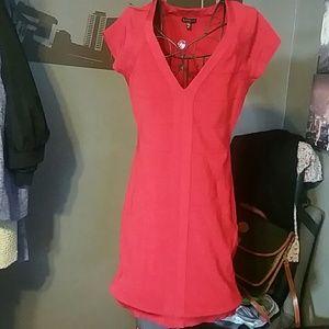 Express Dresses & Skirts - Express Red Bandage dress sz Medium