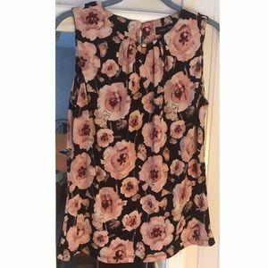 Ivanka Trump Pink Floral Blouse S
