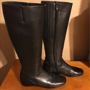Christian Louboutin Nappa Black Knee Boots 36.5