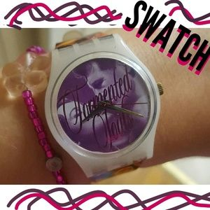 """Swatch Accessories - Vintage 90's """"Tormented Souls"""" Swatch Watch⌚"""