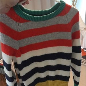 Mini Boden Other - Mini Boden Whimsical Striped Sweater
