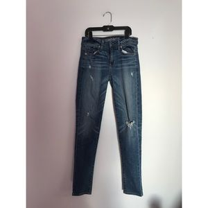 American Eagle Outfitters Denim - American Eagle Super Skinny Light Wash Jeans