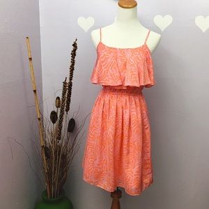 Lilly Pulitzer for Target Dresses & Skirts - Lilly Pulitzer for Target Red Orange Dress EUC