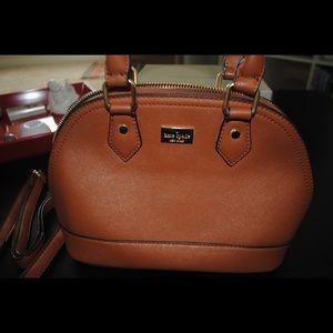 Kate Spade little babe Brown bag