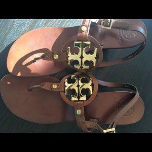 Tory Burch Holly Sandal Cognac -9.5