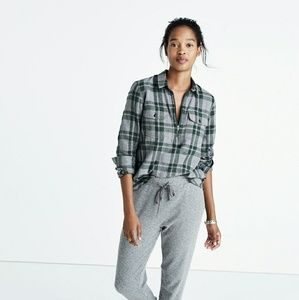Madewell Tops - Madewell Flannel Popover Shirt