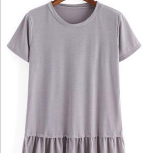shein Tops - Brand new Peplum style shirt