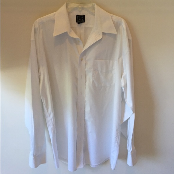 70 off joseph a bank other joseph a bank men 39 s white for Joseph banks dress shirts