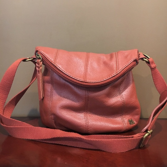 8cf387a8ca97 The Sak Deena Flap Crossbody Leather Purse. M 595123f9981829797e005f88