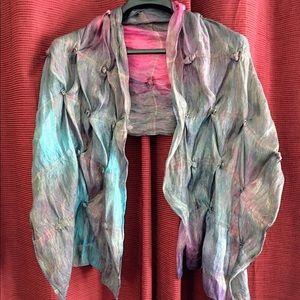 genusis international Accessories - Fashion Silk Scarf/Scarves /Wrap Shawl Long