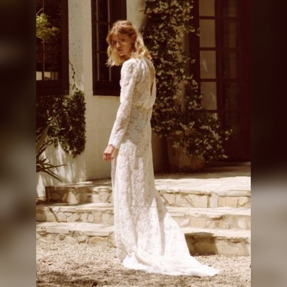 63 off anthropologie dresses skirts nwot bhldn stone for Stone cold fox wedding dress