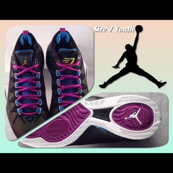 9ce3400475d0 Nike Kids Jordan CP3 VIII AE Basketball 7 Youth