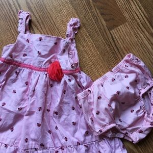 Other - 🎉🎊HP 7/6🎊🎉 ☀️5/$25 Little lady bug sundress