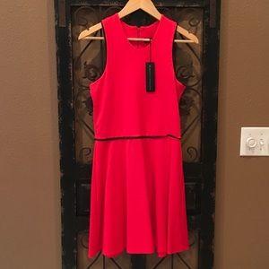 Karina Grimaldi Dresses & Skirts - NWT Red Skater Dress