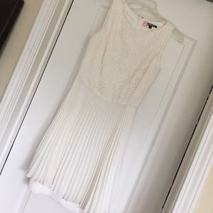 Beautiful cream dress worn once!