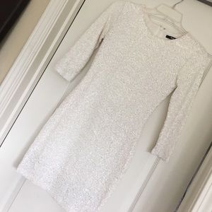 Beautiful sequined mini dress!