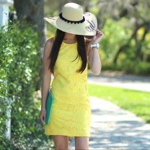 New Yellow Banana Republic Shift Dress, Size 00