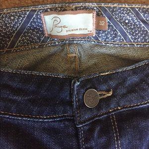 Paige premium denim bootcut jeans size 32