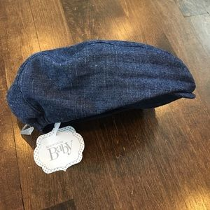 Nordstrom Baby Other - Nordstrom Baby Blue Chambray Page Boy Hat - NWT!!!