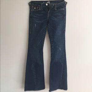 "True Religion jeans  sz 29 inseam 32"" almost new"