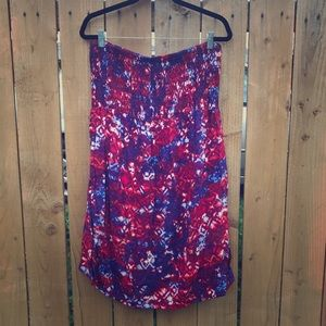 Pure Energy Dresses & Skirts - Strapless Dress with Cinch Top