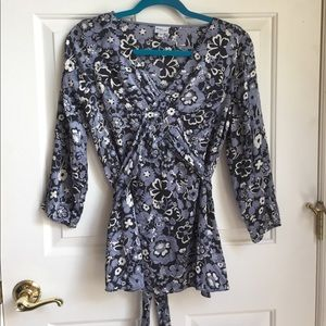 Women's maternity silk shirt size m
