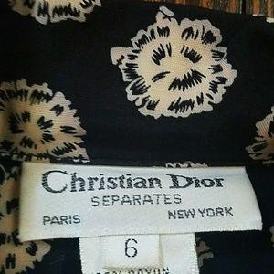 Christian Dior Tops - Vintage Christian Dior Separates Blouse