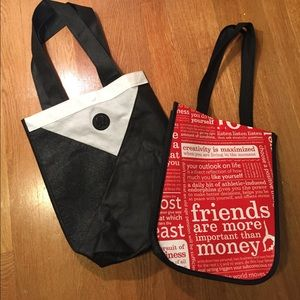 Bundle of two Lululemon totes