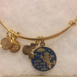 Disney Jewelry - Jiminy cricket Alex and Ani bracelet