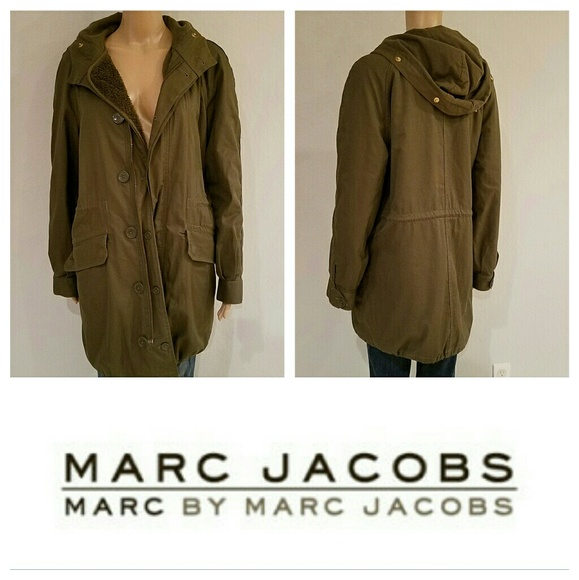 Awesome $795 MARC JACOBS Army Parka Jacket Coat