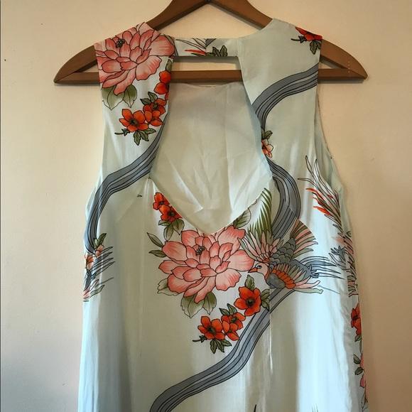 49 off forever 21 dresses skirts nwot koi fish cutout for Koi fish dress