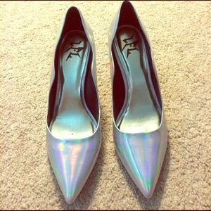 Shoes - Holographic heels
