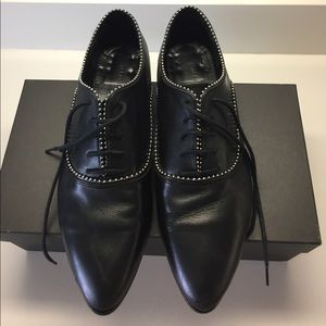 dad030f21ad All Saints Shoes - All Saints Keiko Stud Oxford in Black. (Women s)