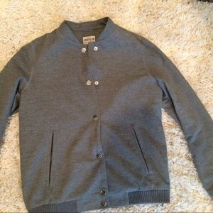 Zara varsity bomber jacket