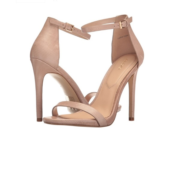 b38e57518be Aldo Shoes - Aldo Caraa Nude heels size 5