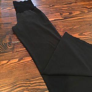 Olian Pants - Oilan Black Maternity Dress Pants